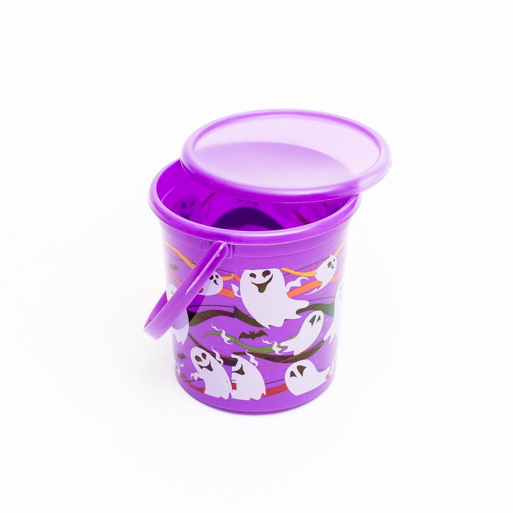Bucket (With Lid/Halloween/11cm/Diameter 11cm)