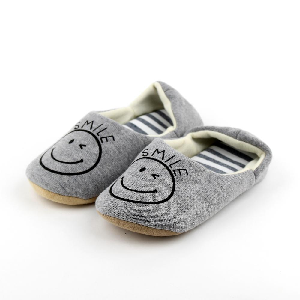 Slippers (Room/Smiley Face/Stripes/1 pair)