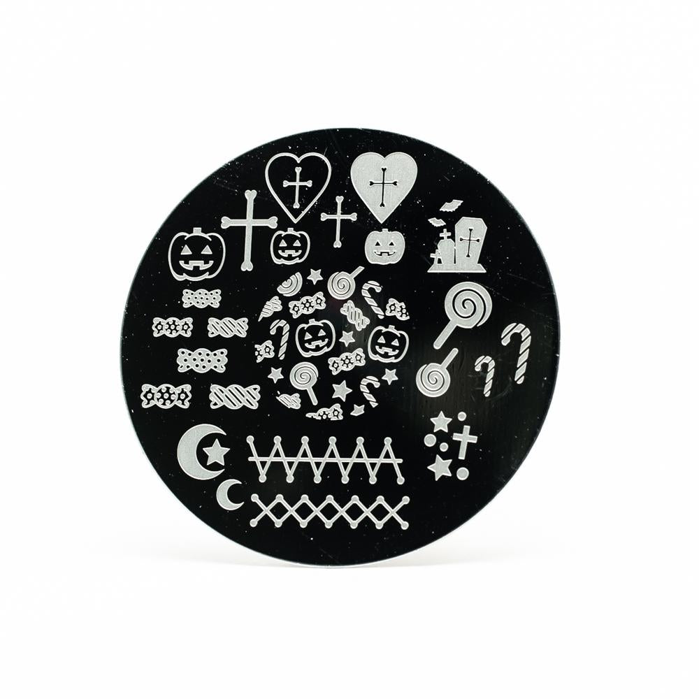 Halloween Nail Stamping Plate