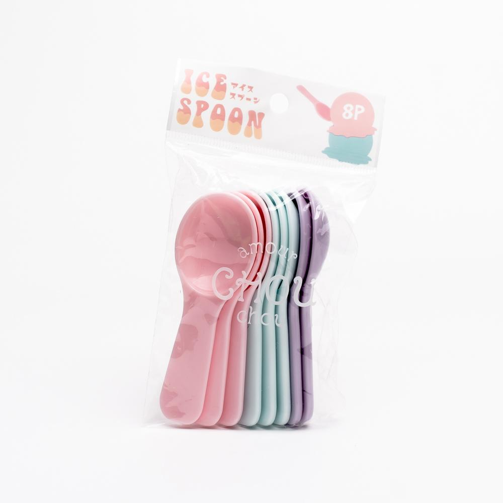 Ice Cream Spoons (PP/8pcs)