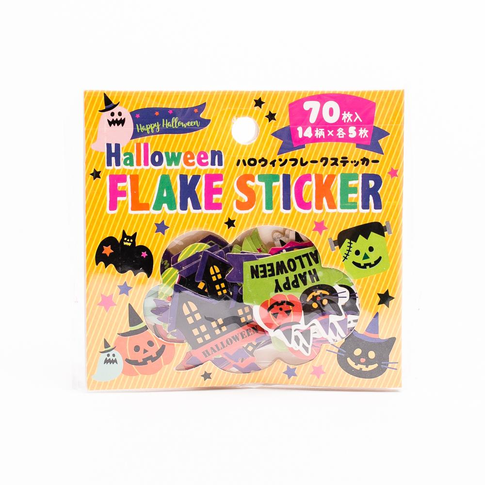 Stickers (Flake/Halloween/70pcs)