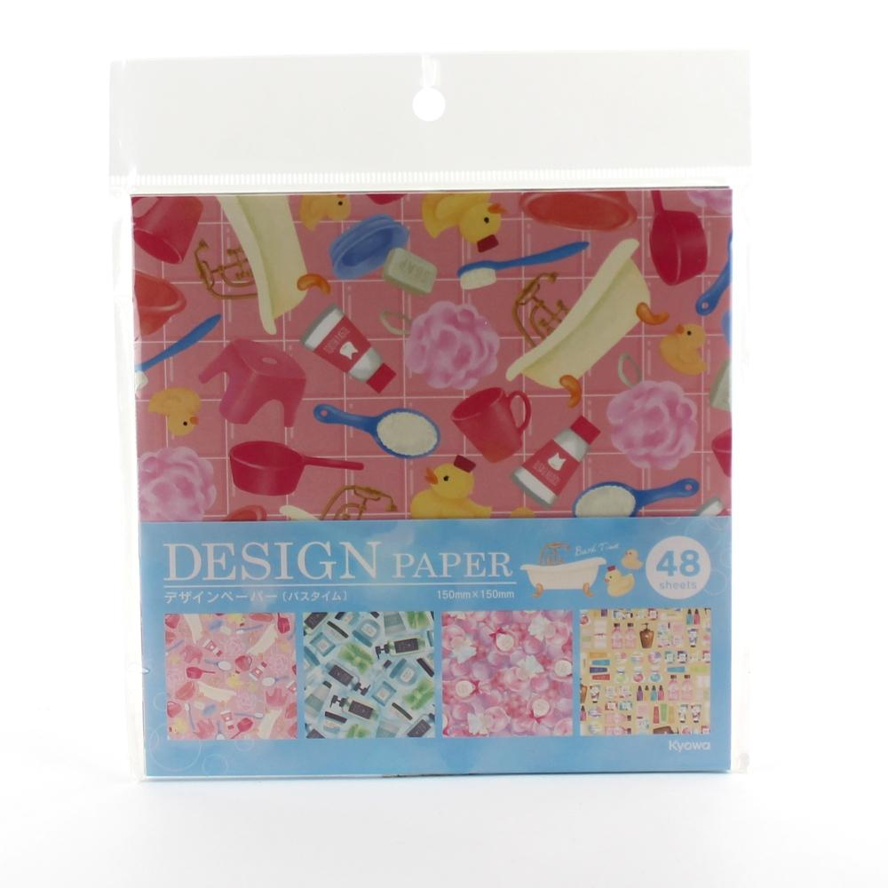 Origami Paper (Bath Time/48pcs)