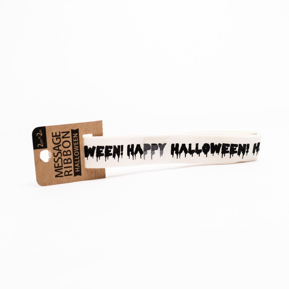 Ribbon (Halloween/Message/2x200cm)