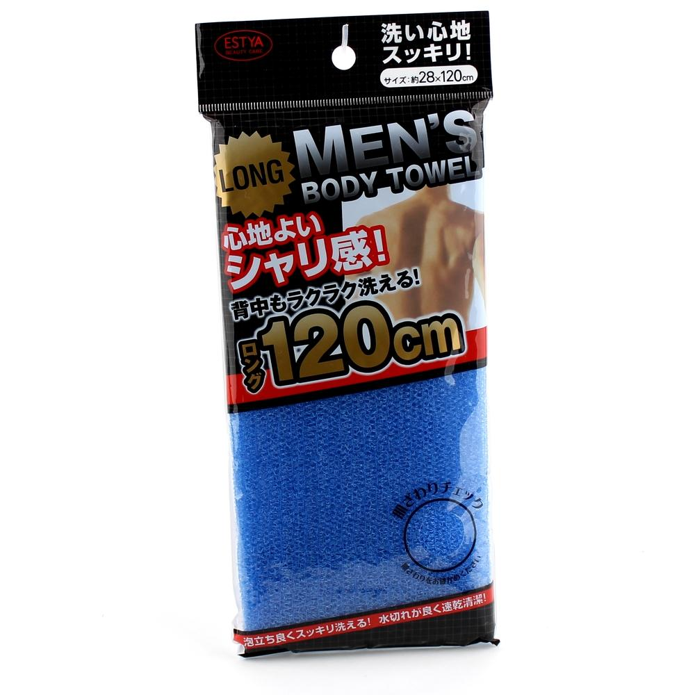 Exfoliating Towel (Long/Men/BL/120x28cm)