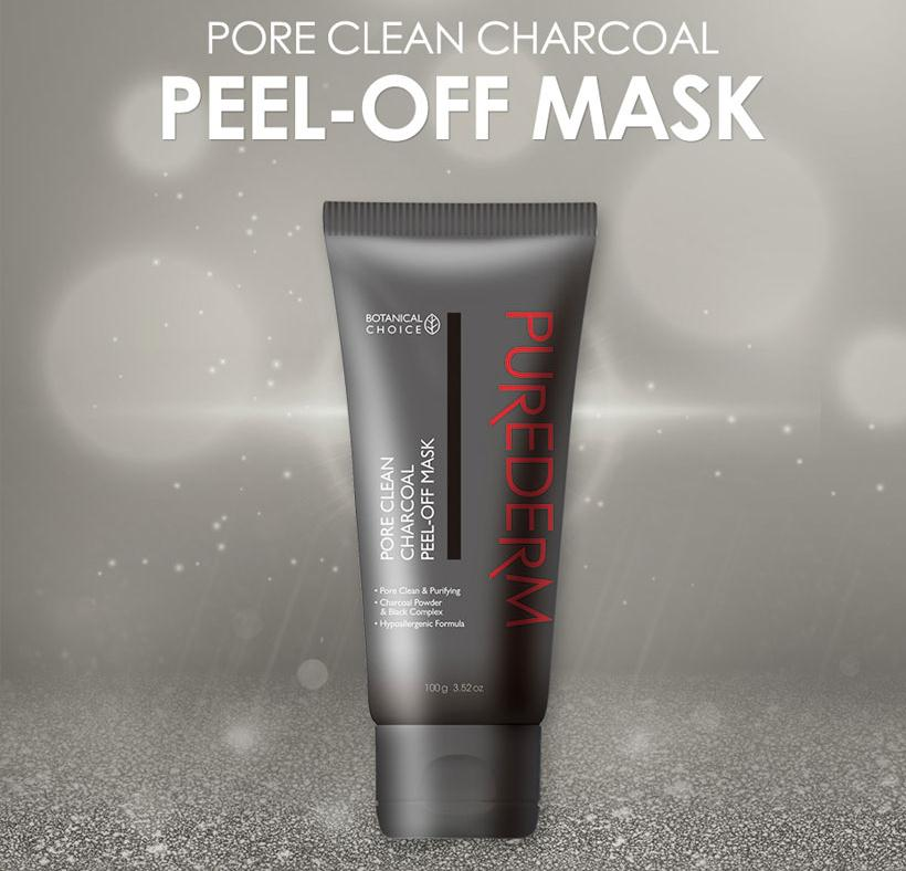 PUREDERM-Charcoal Peel Off Mask (Tube/100g)