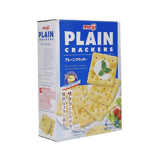 Meiji Plain Cracker 104g