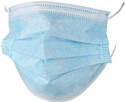 50X/Box 3-Ply Face Masks