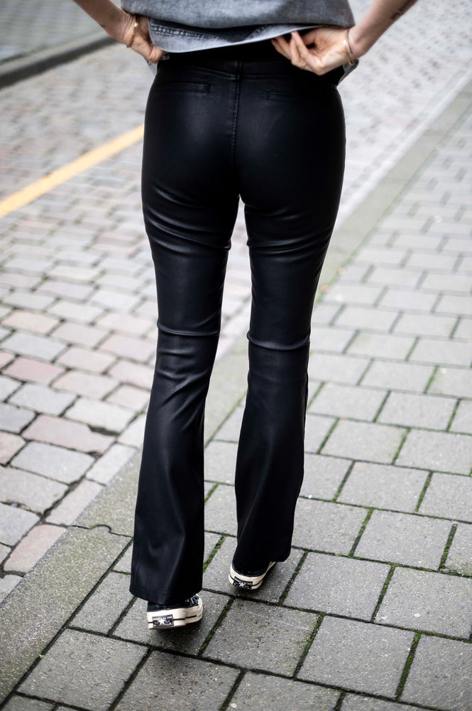 PANT AFKE - VEGAN LEATHER