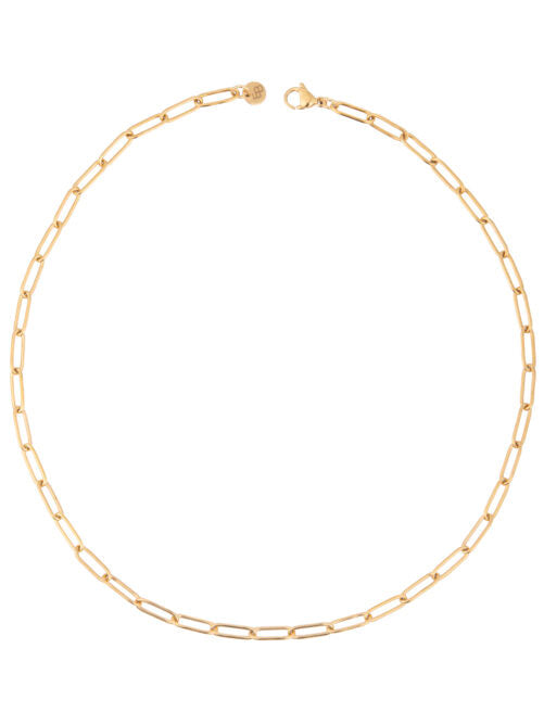 NECKLACE SMALLE OVALE - GOLD