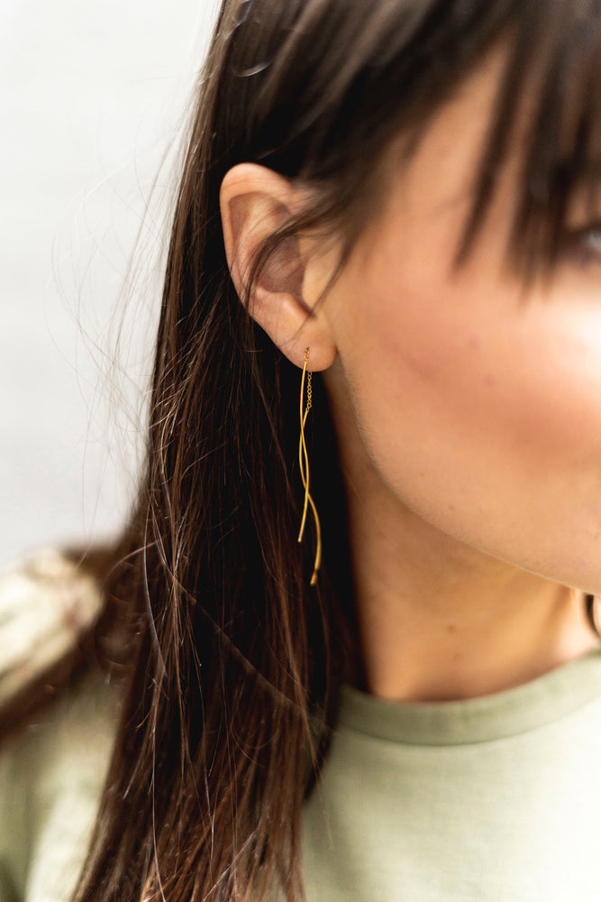 EARRINGS EARTH WAVES