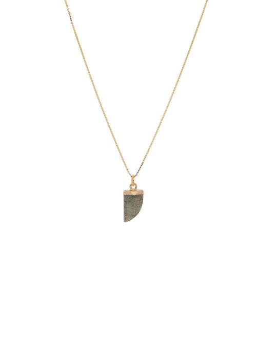 Load image into Gallery viewer, KETTING GEMSTONE - GREY