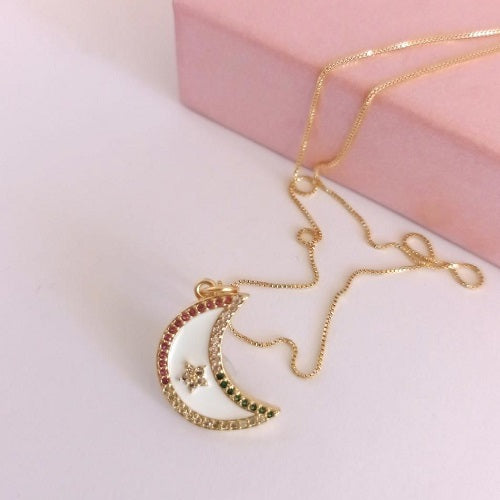Collar Gold Luna
