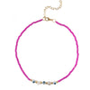COLLAR HONORATA FUCSIA