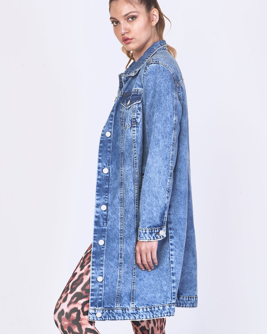 CHAQUETA MELI DENIM