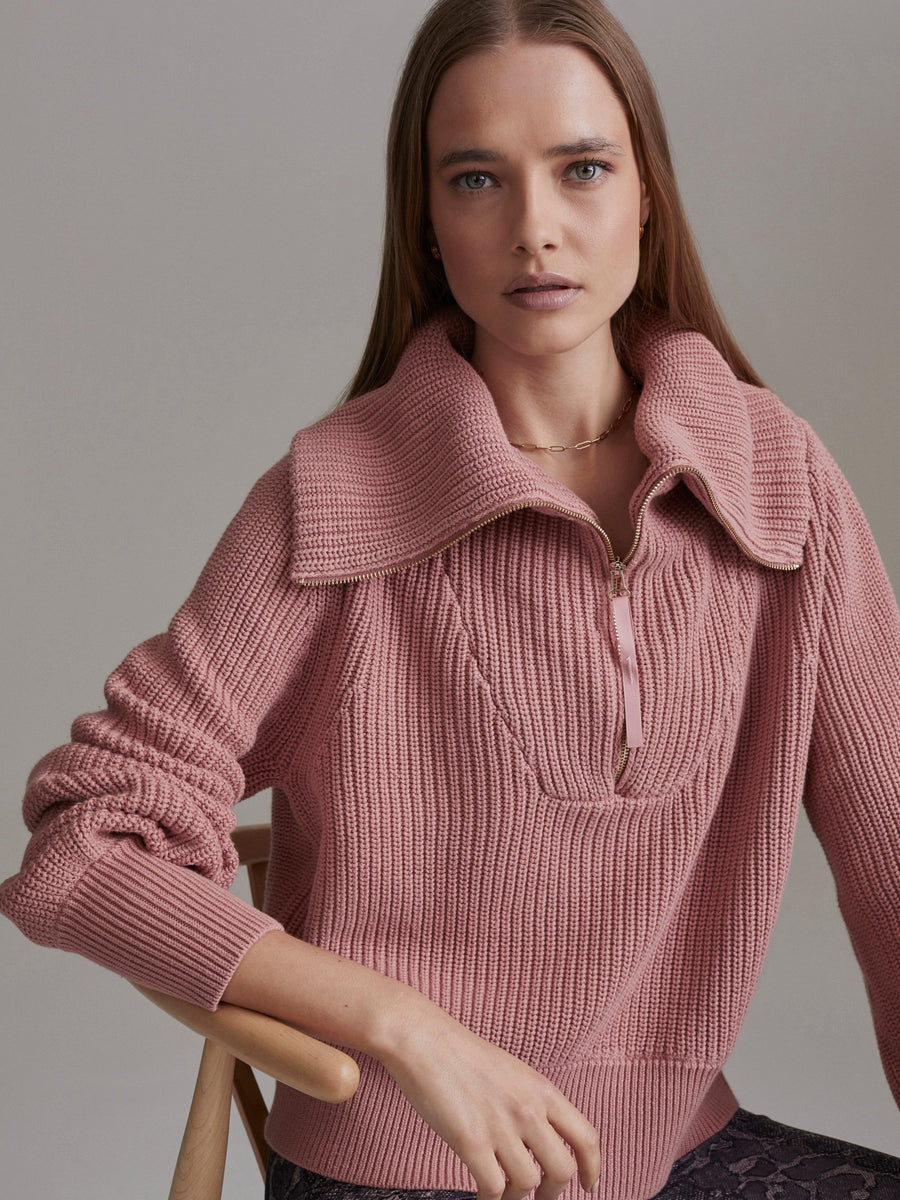 SWEATER MENTONE ASH ROSE