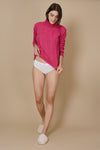 "SWEATER ""FALL"" Fucsia"