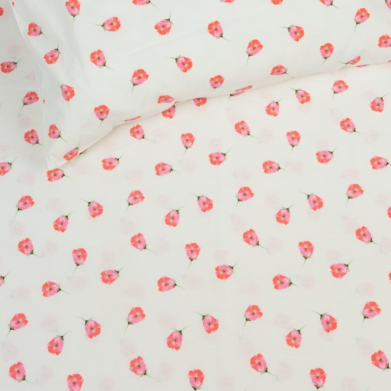 Copy of Organic Tiny Floral Fitted Crib Sheet