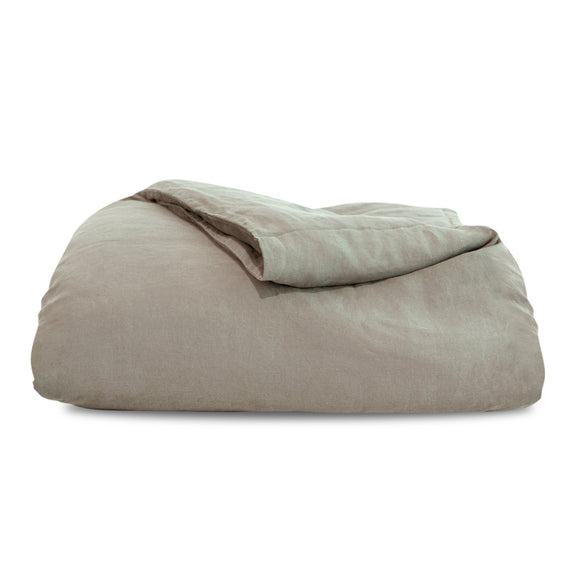 Natural Hemp Duvet Cover