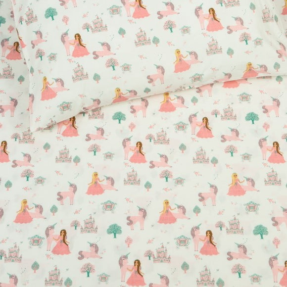 Organic Fairytale Fitted Crib Sheet