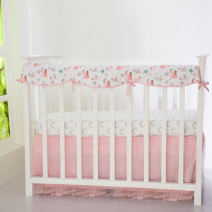 Fairytale Organic Reversible Baby Crib Rail Cover