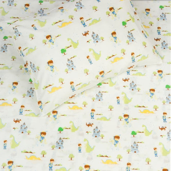 Kids Organic Prince Twin Sheet Set