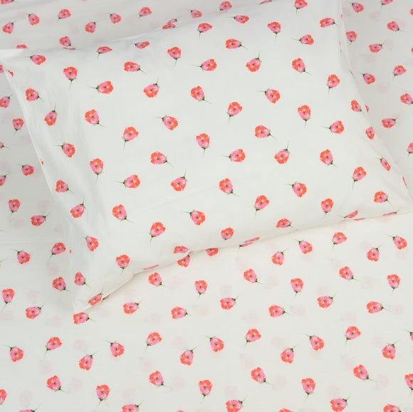 Kids Organic Tiny Blossoms Twin Sheet Set