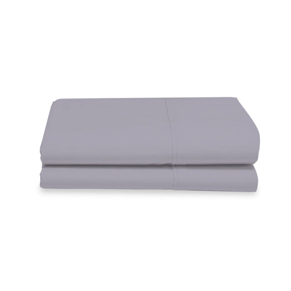 Organic Cotton Grey Pillowcases