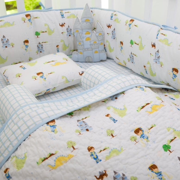 Adventures of a Prince Organic Baby Crib Bedding Set