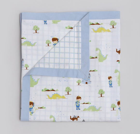 Adventures of a Prince Organic Baby Duvet Coverlet