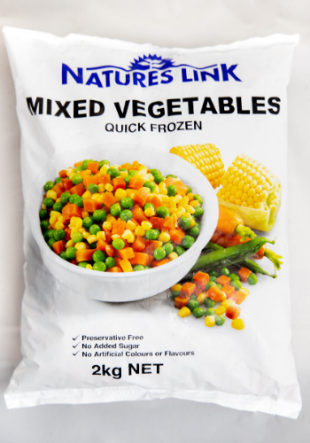 Mixed Vegetables Diced 2kg (101282)