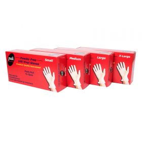 Vinyl Glove Medium Powder Free 100 pieces (101226)