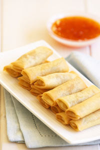 Cocktail Spring Roll Vegetable  96x15gm (101264)