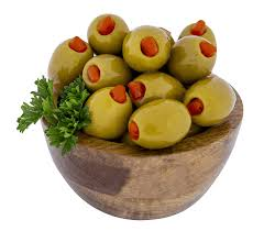 Stuffed Green Olives 2kg (101558)