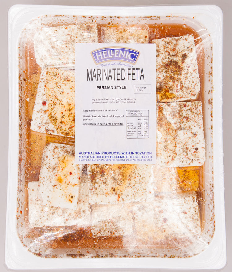 Marinated Feta Cheese 2kg (106815)