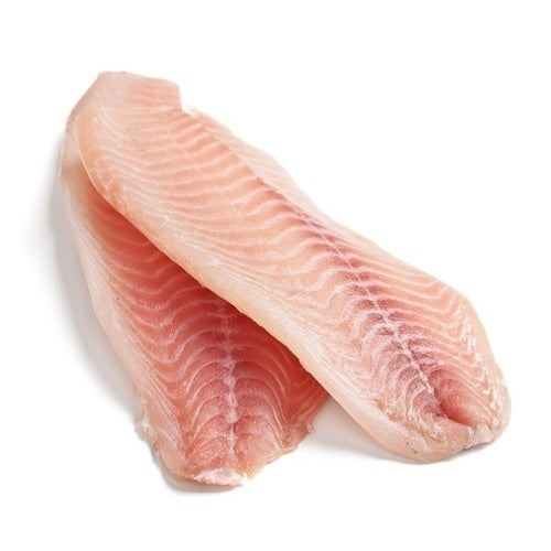 Basa Fish Fillets 170-220gm per piece 5kg box  (109717)