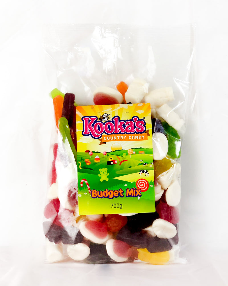 Budget Lolly Mix 700gm (111904)