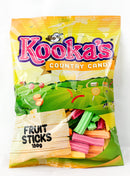 Fruit Sticks Lollies 180gm (111919)