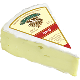 Brie Cheese Wedge 125gm (111987)
