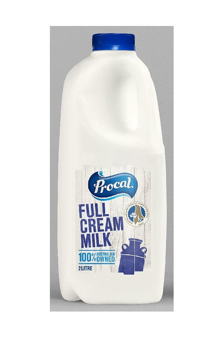 Fresh Milk 2L Full Cream (105431)