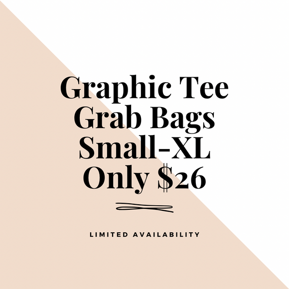 Graphic Tee Grab Bag