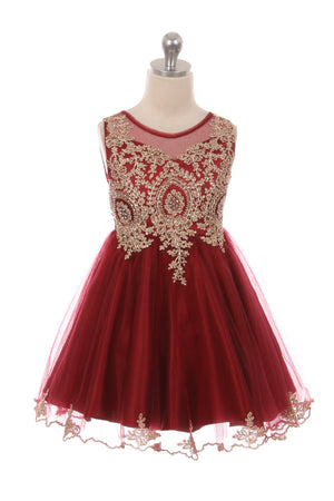 Designer Graduation Dress in Wine Burgundy