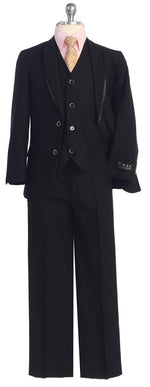 5 pc Suit Metallic Black