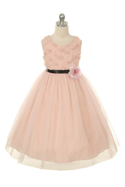 Couture Design Dress in Blush Pink