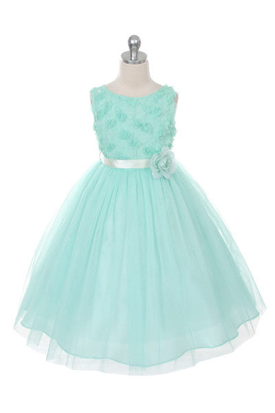 Couture Design Dress in Mint