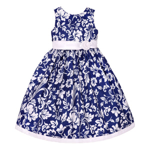 Paparazzi Navy Floral Dress