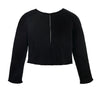 Designer Black Knitted Sweater