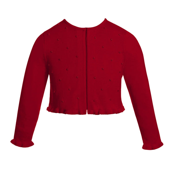 Designer Holiday Red Knitted Sweater