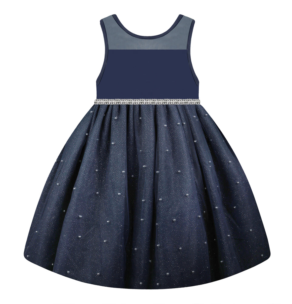 Navy Diamond Dress