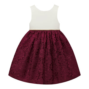 Paparazzi Dress in  Candilight Burgundy