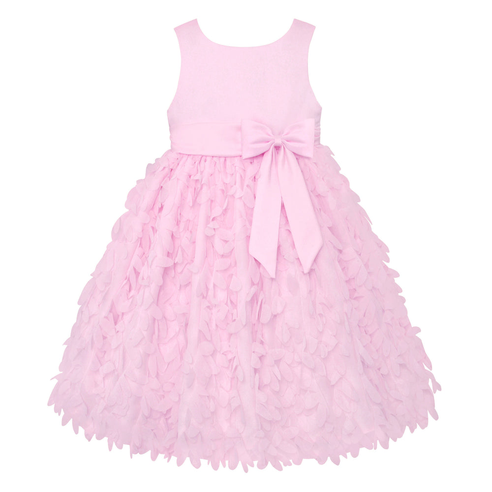 Paparazzi Dress in Baby Pink with Petal Bottom